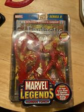 Human TORCH Marvel Legends Toy Biz MIP Fantastic Four 4 Series 2 2002 Comic Base