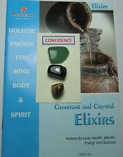 """Gemstone & Crystal ELISIR - """"fiducia"""" - Include 3 Gemme & 2 grandi libri."""