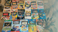 Nintendo GameBoy Advance Various Games With Manuals LOT x17 Naruto *Used*