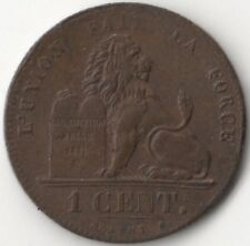 More details for 1847 belgium 1/2 cent coin   pennies2pounds