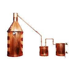 20 Gallon Copper Moonshine / Liquor still Distillation Unit