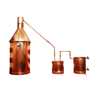 20 Gallon Copper Moonshine / Liquor still Distillation Unit