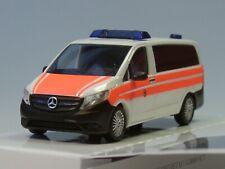 Busch Mercedes Vito Bundespolizei Notarzt Sanitätsdienst BPOL - 124 - 1:87