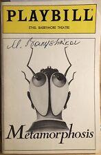 Mikhail Baryshnikov Signed METAMORPHOSIS Broadway Playbill RARE!
