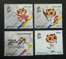 Malaysia 29th SEA Games 9th Para Asean 2017 Tiger Sport Kites (stamp) MNH