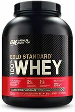Optimum Nutrition Gold Standard 100% Whey Protein Powder, Double Rich Chocolate,