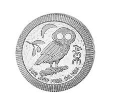 2$ Silber / Silver Niue Eule von Athen / Owl of Athens 1 OZ 2018