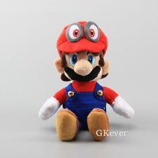 Super Mario Bros Odyssey Cappy Mario Plush Doll Soft Figure Toy 8 inch Gift