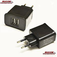 Dual USB Alimentatore Adattatori Di Carica Dispositivo Caricabatterie