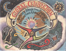 Global Celebration by VA (4 Cassettes + 32 pg Booklet) Music from 54 Countries