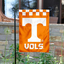 Tennessee Vols Checkerboard Garden Flag and Yard Banner