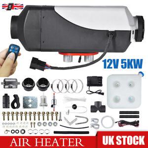 Diesel Heater 12V Caravan Camper Van Air Motorhome 2KW 3KW 5KW Night Parking UK.