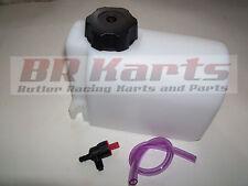 Plastic Fuel / Gas Tank 2 Quart Qt. Go Kart Racing, Cart