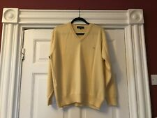 Mens LONDON by BURBERRY V neck jumper/Sweater size large.