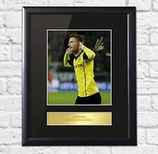 Marco Reus Signed Mounted Photo Display Borussia Dortmund Framed