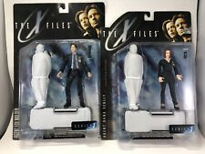 The X Files Fight The Future Agent Fox Mulder And Dana Sculls Action Figures Lot