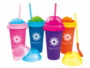 Magic Freez Slushy Maker Tuttifrutti Chillfactor 4 Farben zur Wahl Sommerfeeling