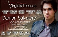 Damon Salvatore Ian Somerhalder the VAMPIRE DIARIES Drivers License