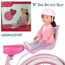 """Our Generation 18"""" Doll BIKE SEAT Carrier for American Girl Boy Bicycle GIFT Set"""