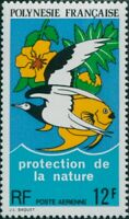 French Polynesia 1974 Sc#C105,SG186 12f Protection of Nature MNH