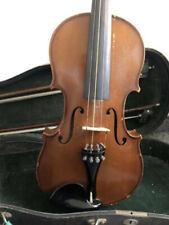Schöne alte Geige  4/4   Violin Violine Violon mit Koffer und Bogen