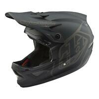 Troy Lee Designs D3 Helmet TLD BMX MTB Downhill Bike Gear Fiberlite MONO Black