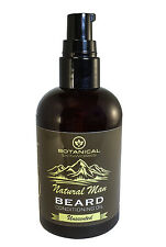 Natural Man Beard Oil 4 oz All Natural Unscented Beard Conditioner by BSW