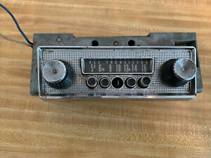 1963 DODGE POLARA 500 DART PLYMOUTH SPORT FURY VALIANT AM RADIO  Used Original