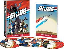 GI Joe: A Real American Hero: First Season 1.2 Two (DVD, 2009, 4-Disc Set) G.I.