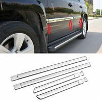 Chrome Body Door Side Molding Line Cover Trim Garnish fit 2011-2016 Jeep Patriot