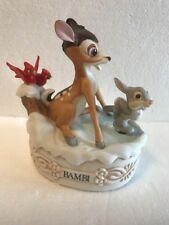 Disney Collection Musical Memories BAMBI Ltd Ed Music Box Animated Figurine