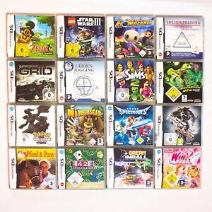 Nintendo DS Spiele I große Auswahl I u.a. Mario Harvest Moon Pokemon Zelda I OVP