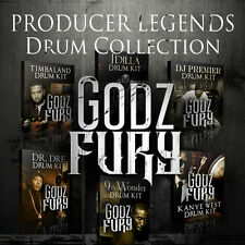 Producer Legends Drum Library Pack Pete Rock DJ Premier NAS Jay Z Bomb Squad