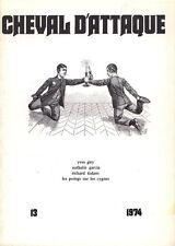 CHEVAL D'ATTAQUE. Revue internationale d'expression ludique, Numéro 13, 197 - BP