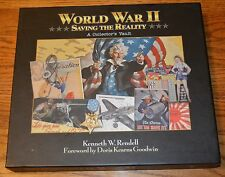 "2009 ""WW II Saving The Reality : A Collectors Vault""  Hardcover W/ Sleeve"