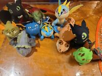 "10 Pcs of  How to Train Your Dragon The Hidden World Figure 6"" USA Stock Tag"