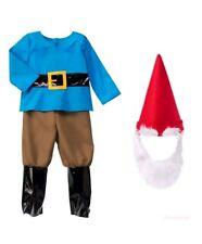 GYMBOREE HALLOWEEN BOY GNOME COSTUME w/ HAT & BEARD 2T NWT