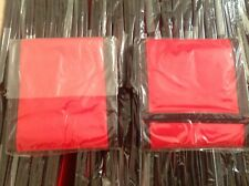 Ripper Tri-Fold Nylon Wallet Purse Red With Black Trim Coin Holder