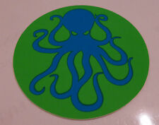 Blink 182 - HMNIM Blue Octopus Green Background Small Promo Sticker