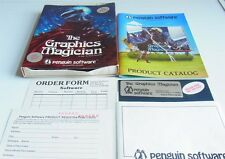 Apple 2: the Graphics Magician-All New Version-Penguin software 1983