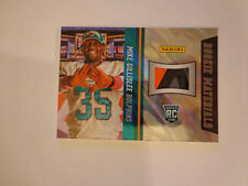 2013 National MIKE GILLISLEE *GLOVE* Lava Flow #/25 3 COLOR Dolphins Panini