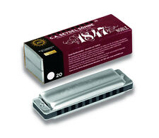 Seydel 1847 Noble Harmonica STEEL REEDS Key of Choice