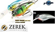 Leurre poisson nageur Ruby Crank ZEREK 60mm 10gr pêche blackbass brochet perche