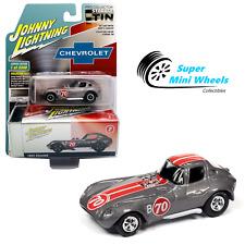 Johnny Lightning 2020 Collector Tin - 1963 Cheetah (Dark Silver) 1:64