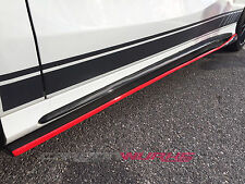 Mercedes A CLA Carbon Fibre Side Skirt Extensions - UK Stock A45 CLA45 W117 W176