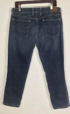 """Lucky Brand Womens Halsted Lola Skinny Jeans 14/32 26"""" Inseam Dark Wash Mid Rise"""