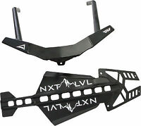 Skinz NXT LVL Snowmobile Front Bumper Black For 2015-2018 Polaris AXYS Chassis