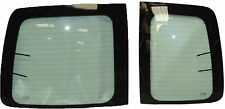 VW CADDY 2004 -LEFT AND RIGHT REAR DOOR GLASS (GREEN TINT)