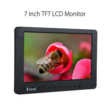 "EYOYO S701 7"" inch Portable Car TV LCD AV Video Monitor Display Fr Bank Security"