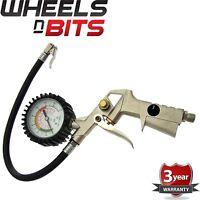 New 175PSI Tyre Inflator & Gauge Car Van Compressor Tire Heavy Duty Truck Dial